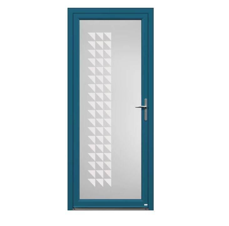 Porte d'entrée Aluminium Lugami