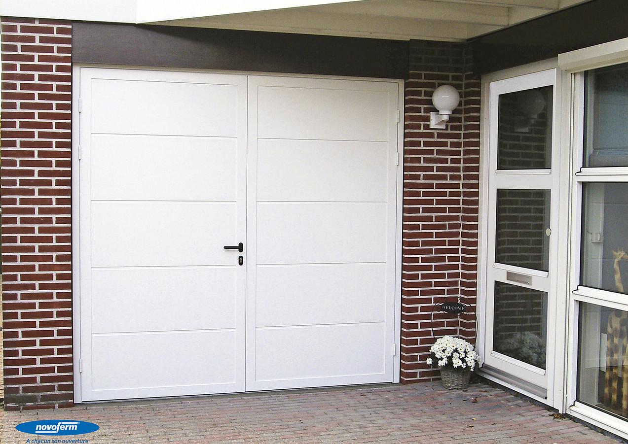Porte de garage battante Duoport