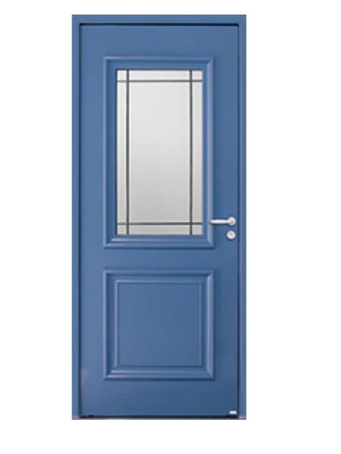 Porte d'entrée mixte Bel'm, modèle Isaac (extérieur).