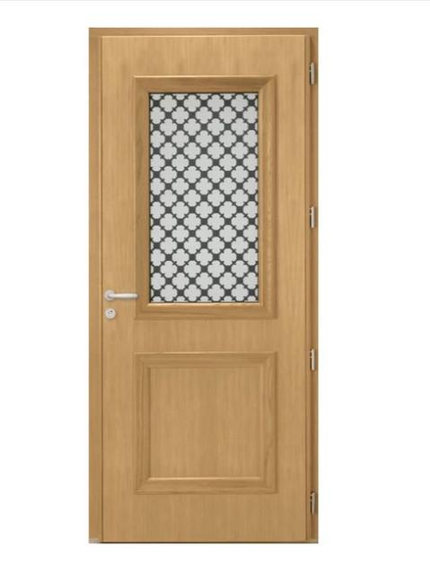 Porte d'entrée mixte Bel'm, modèle Athéna (intérieur).