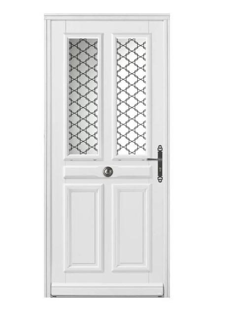 Porte d'entrée bois Bel'm, modèle Piva.
