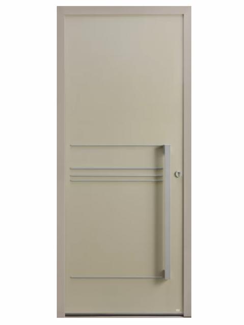 Porte d'entrée Aluminium Allure 1 - Bel'm Expérience