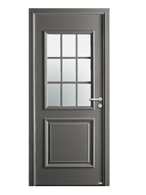 Porte d'entrée mixte Bel'm, modèle Jackson (extérieur).