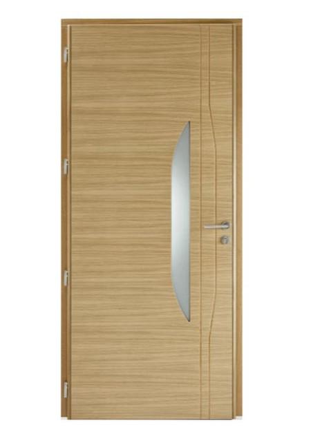 Porte d'entrée mixte Bel'm, modèle Azur (intérieur).