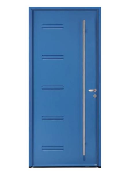 Porte d'entrée acier Bel'm, modèle Couguar.