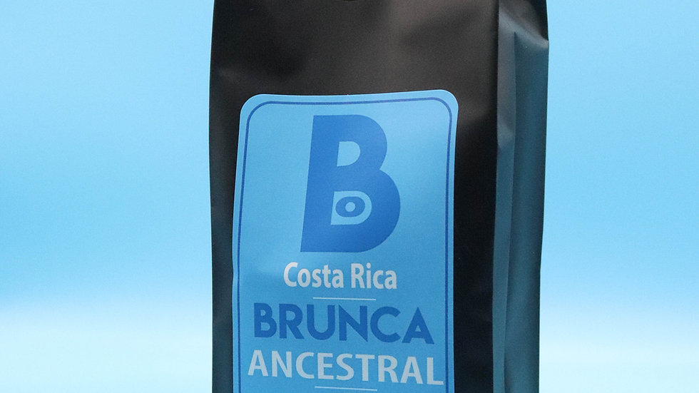 12 oz Brunca Ancestral Coffee - Delicious notes of tropical citrus and caramel