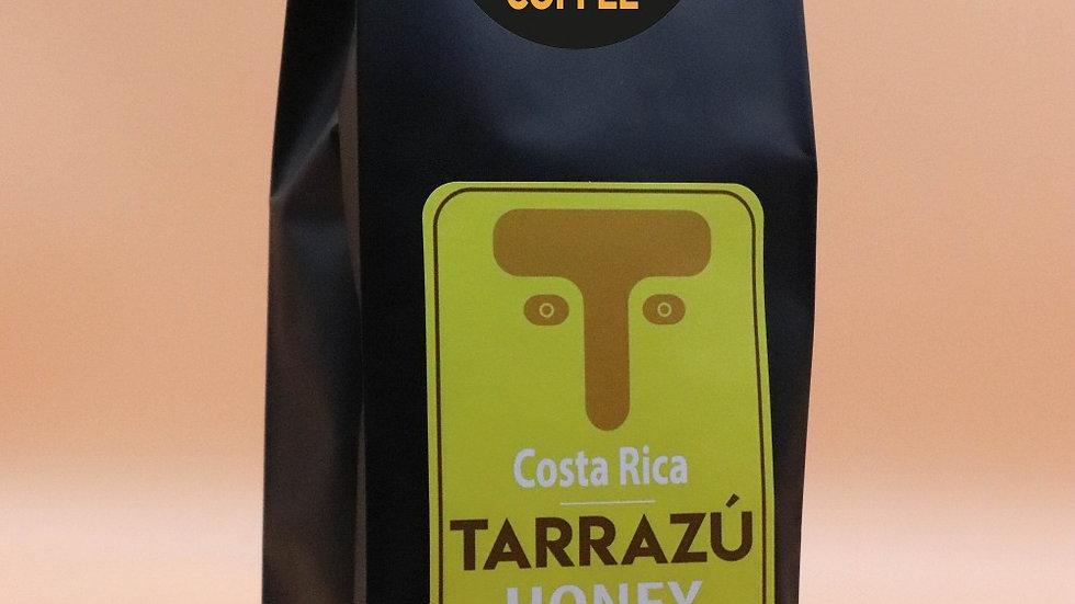 12 oz Tarrazú Honey Coffee - Warm citrus and baking chocolate