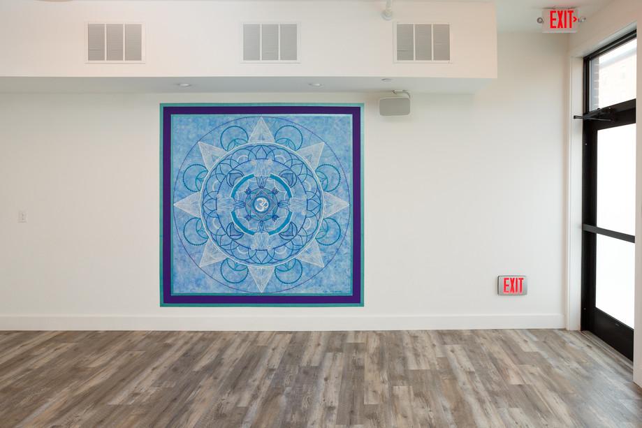 Mandala Wall Mural (2019)