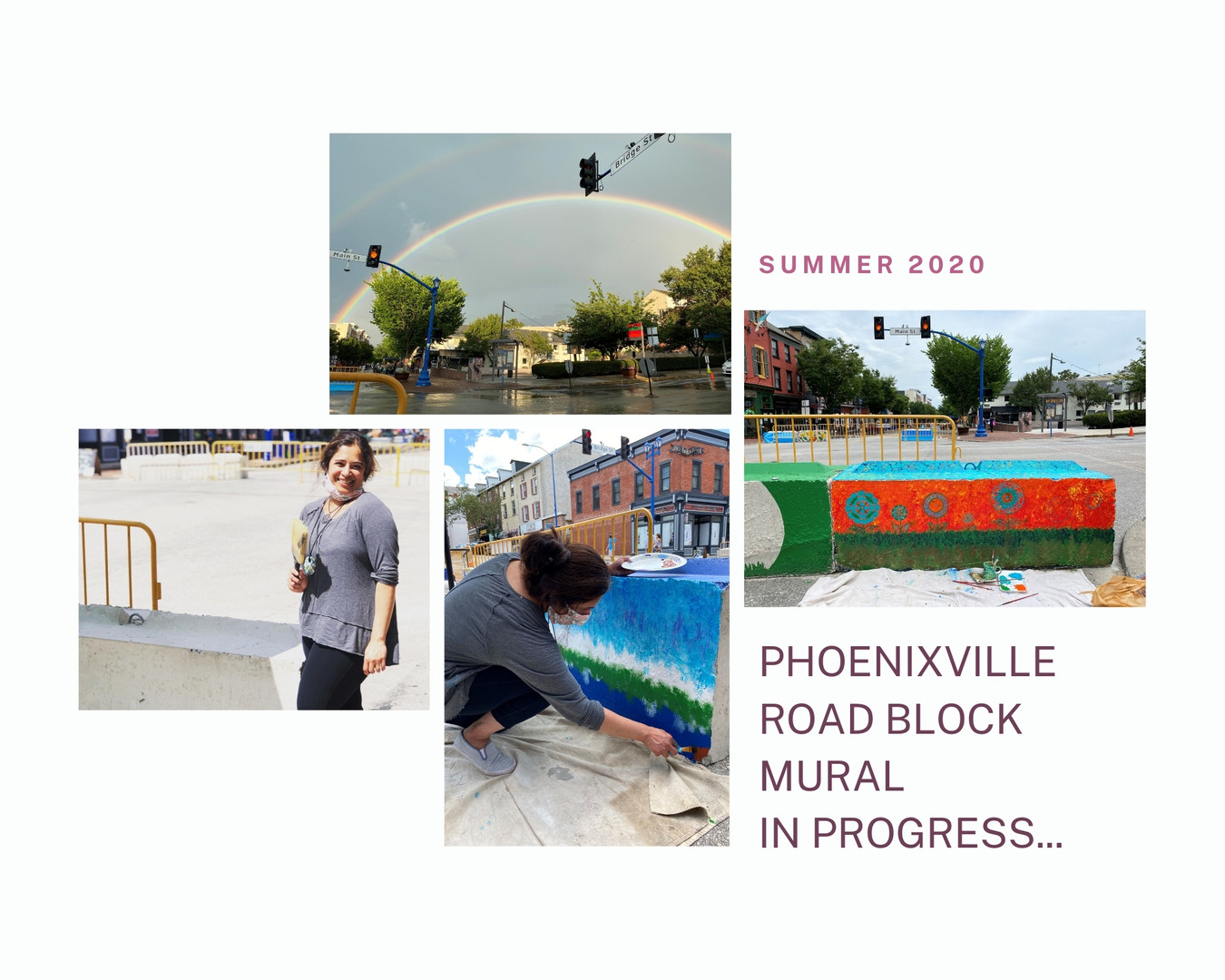 Phoenixville Road Block Mural Project