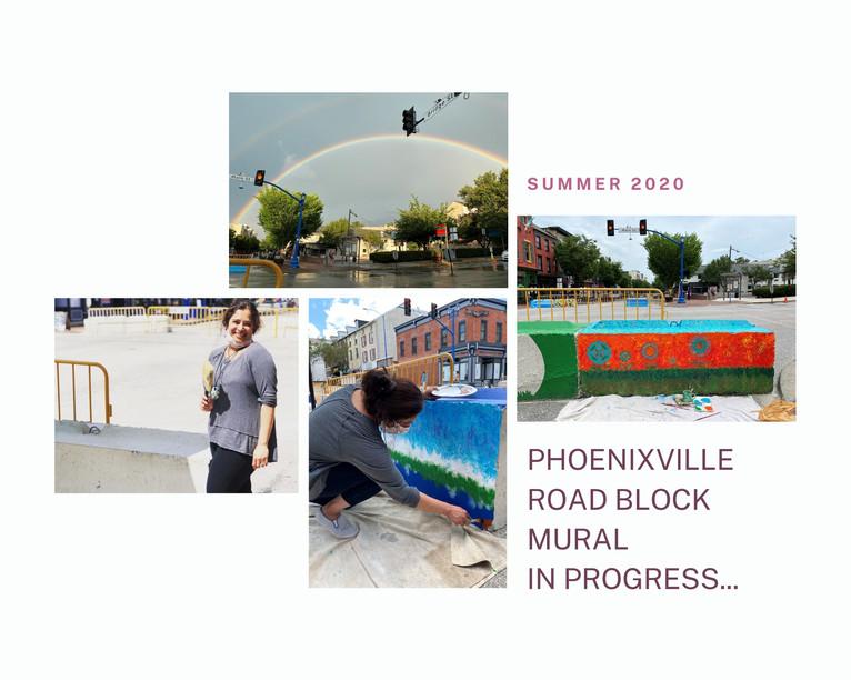 Phoenixville Road Block Mural Project