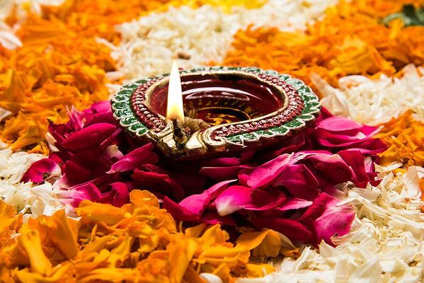Canva - flower rangoli for Diwali or pon