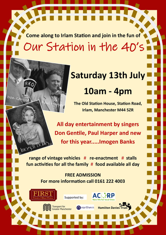 Our 40's Day at the Station