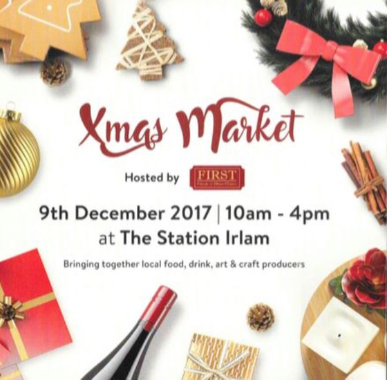 Irlam Station Christmas Market