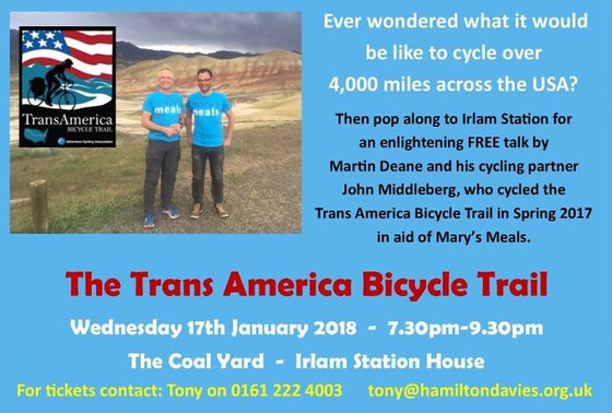 A Talk on the Trans America Bicycle Trail