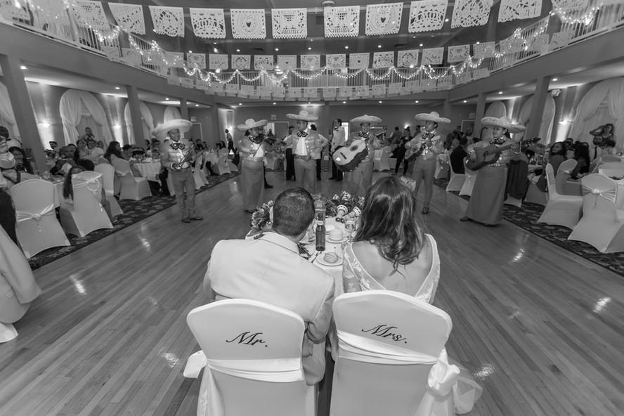 Wedding serenade