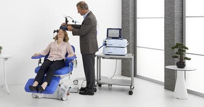 Transcranial Magnetic Stimulation (TMS).to treat Major Depression Disorders. No major side effects, safe, effective and non-invasive therapy. Patient is awake and can return to their daily routine after treatment. This therapy can provide effective and long lasting relief from suffering.This is NOT ECT. Don't Wait!!