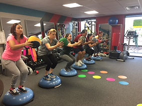 group medicine ball and bosu balance.JPG
