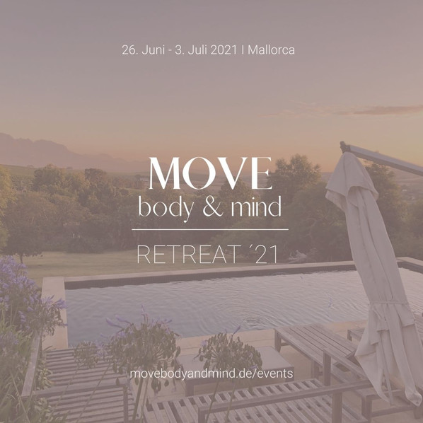 MOVE BODY AND MIND RETREAT 2021