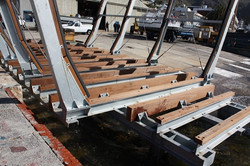 Boat Craddle Universal Timber