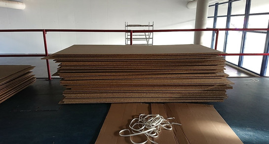 Preparation for exhibition '' Note to Self''