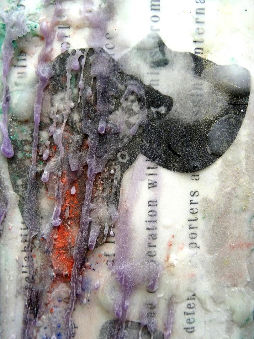 Detail, mixed media 2019