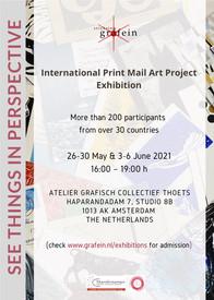 Exhibition International Print Mail Art Project