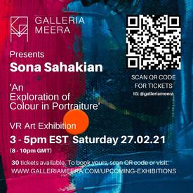 Virtual exhibition ' An Exploration of Colour in Portraiture'