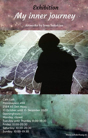 Exhibition '' My inner journey in Cafe Loft