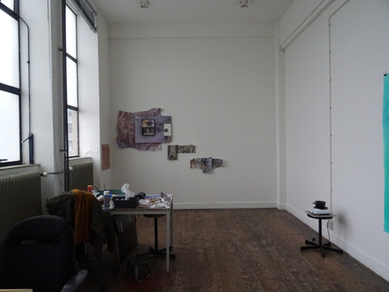 Process & studio - The Symphony of the Soul  Mixed media