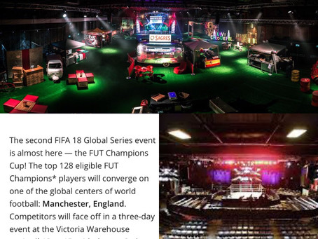 Stylist and Wardrobe Manager . Manchester FUT Champions Cup Tournament Overview