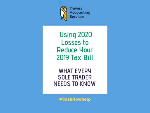 USING 2020 LOSSES TO REDUCE YOUR 2019 TAX BILL