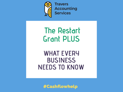THE RESTART GRANT PLUS - What Every Business Needs to Know Now!