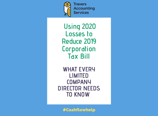 USING 2020 LOSSES TO REDUCE 2019 CORPORATION TAX BILL- What Every Limited Co. Director Needs to Know