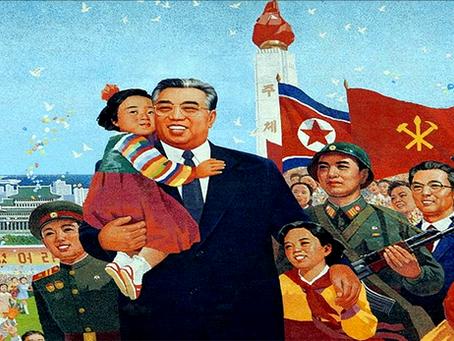 """""""O grande Líder do povo coreano"""""""