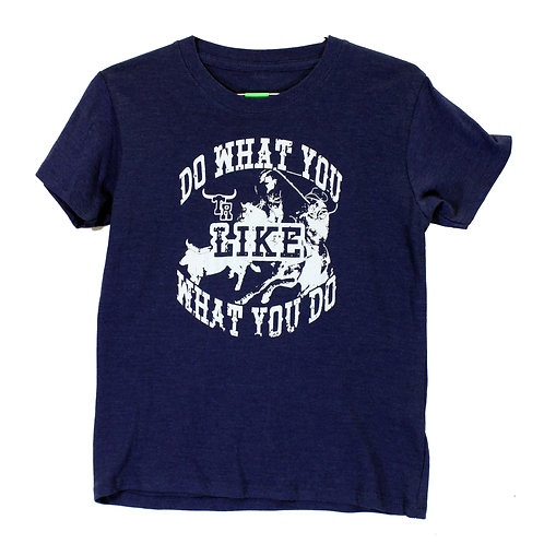 Youth Like What You Do Short Sleeve Tee, Denim Heather
