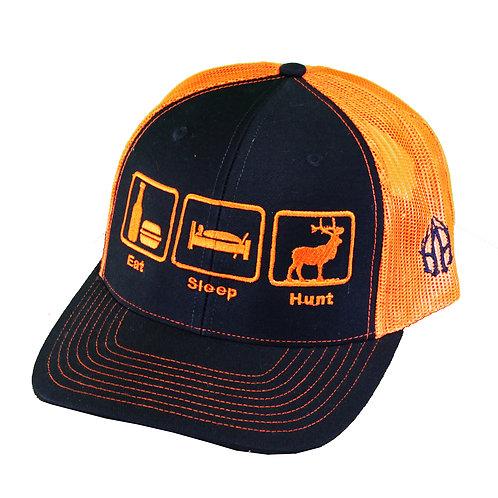Eat.Sleep.Hunt 2-Tone Trucker Cap