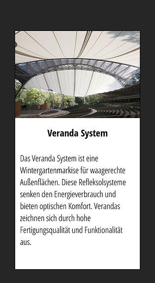 SELT Veranda-System