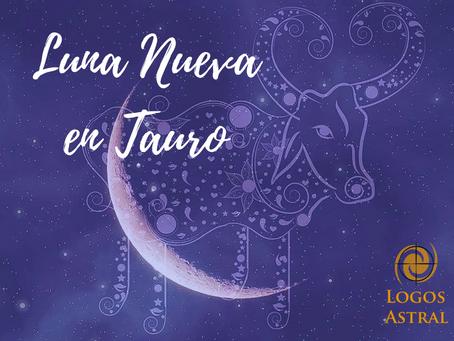 Luna Nueva en Tauro: ¿Qué sucede con tu valor interno?