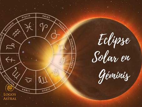 Eclipse Solar en Géminis: cuando tu saber queda interrogado