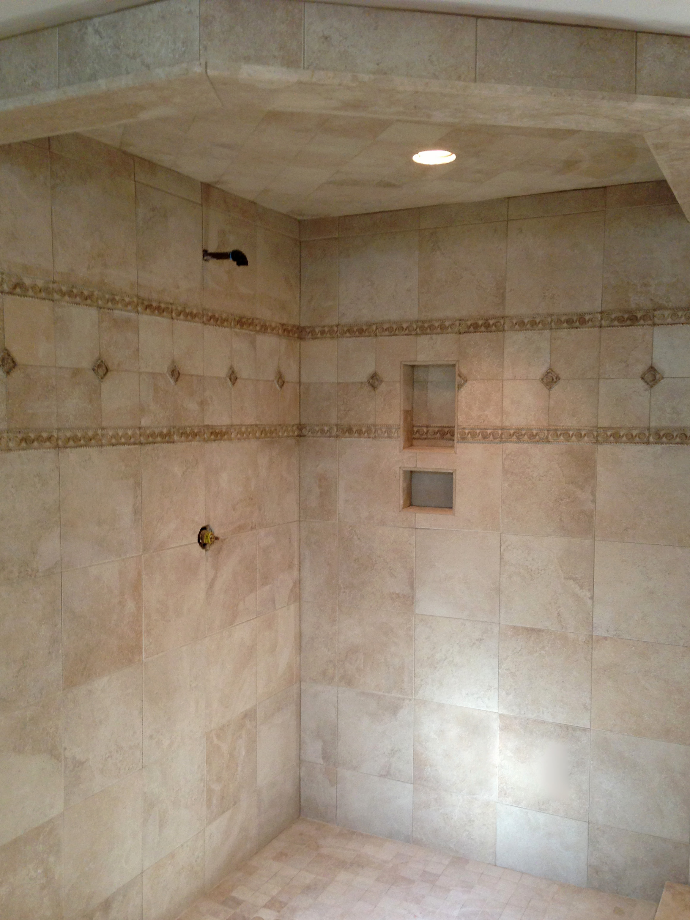 Shower with Niches, Winchester