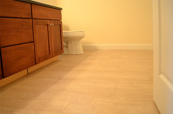 Bathroom Tile Floor, Burlington