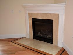 Fireplace in Burlington, MA