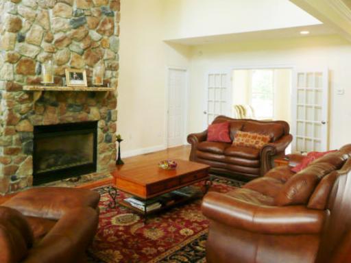 Stone Fireplace in Tyngsborough, MA