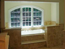 Whirlpool Tub with Tile Surround