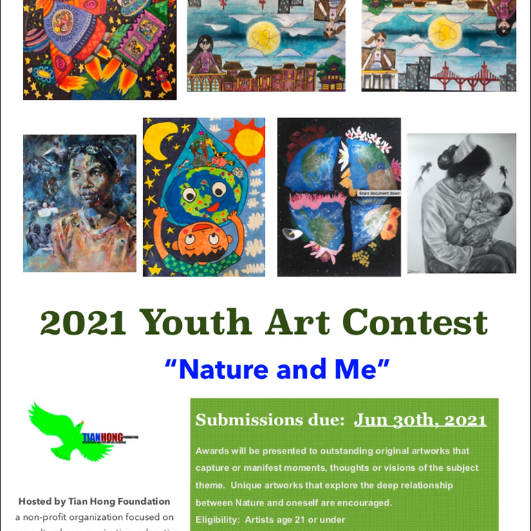 2021 Tian Hong Cross Cultural Youth Art Contest - Nature and Me