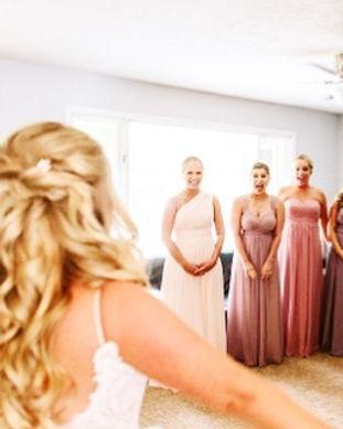 We love a good reveal!! #blushedbride #b