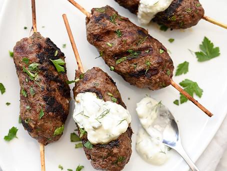 Greek Lamb with Tzatziki Sauce