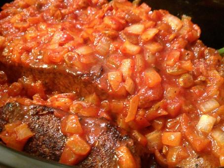 Tomato and Red Wine Brisket