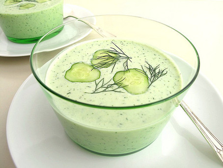 Chilled Cucumber Soup