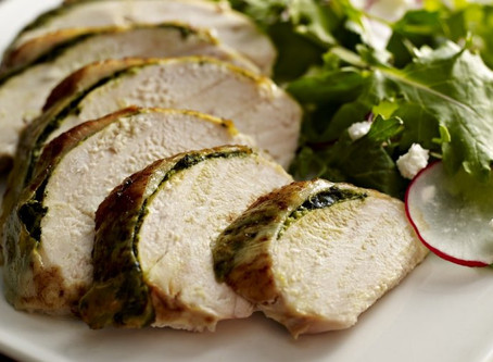 Cilantro-Stuffed Chicken Breast